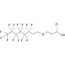 3-[(3,3,4,4,5,5,6,6,7,7,8,8,8-tridecafluorooctyl)thio]- Propanoic acid